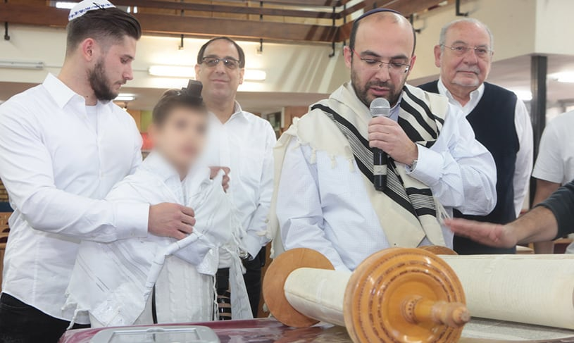 A Unique Bar Mitzvah Celebration at AMIT Hammer Rehovot