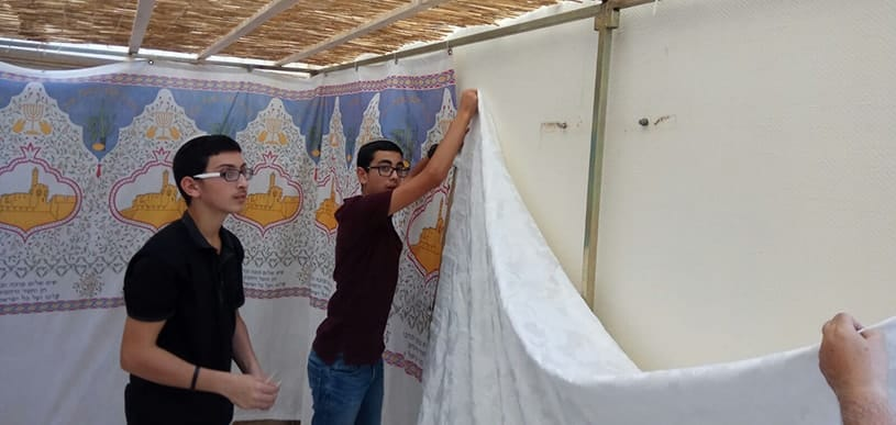 A cross-country mission for Sukkot