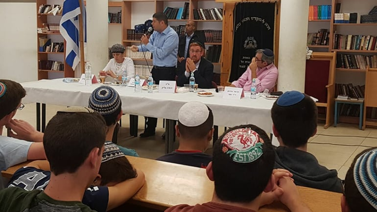 AMIT students commemorate Yitzhak Rabin with diverse panel discussion