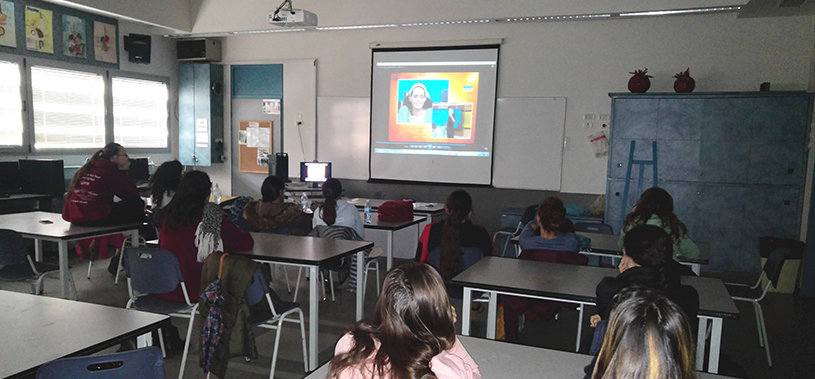 AMIT students have virtual visits with leading scientists