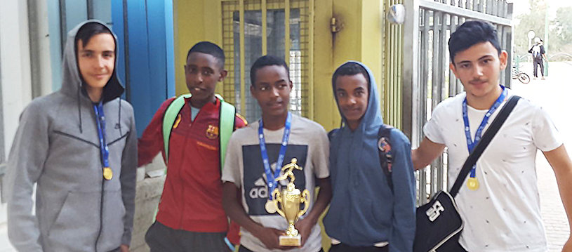 AMIT students take top spots at regional athletics competition