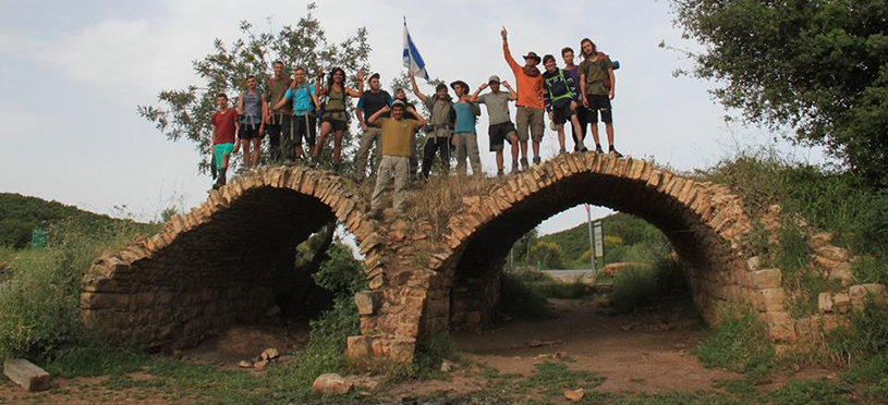 Hevruta students complete 50-day trek at Mount Hermon