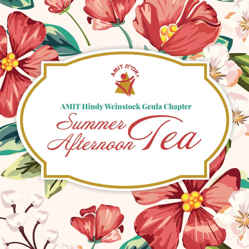 AMIT Teaneck Summer Afternoon Tea Event