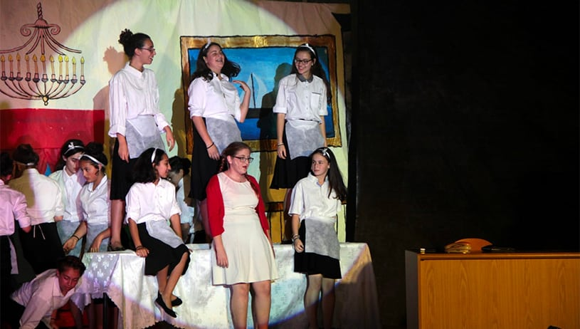 AMIT students stage 'Annie' and help real orphans