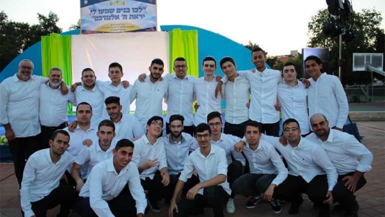 Yeshivat AMIT Ashdod bids farewell to its first graduating class