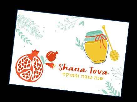 Shana Tova Cards for Sale