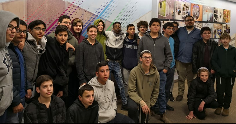 Outstanding AMIT students get a taste for tech at Intel
