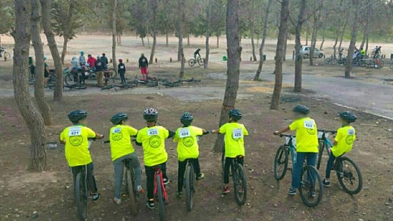 Kfar Ganim students ride their way to success