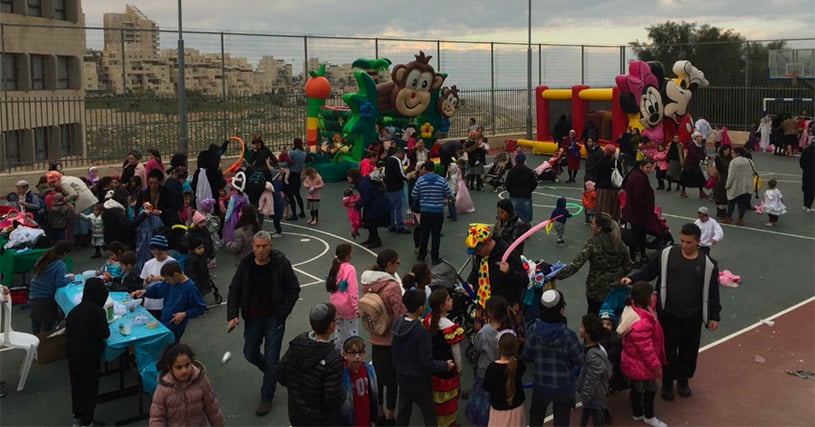 AMIT Eitan students create Purim magic