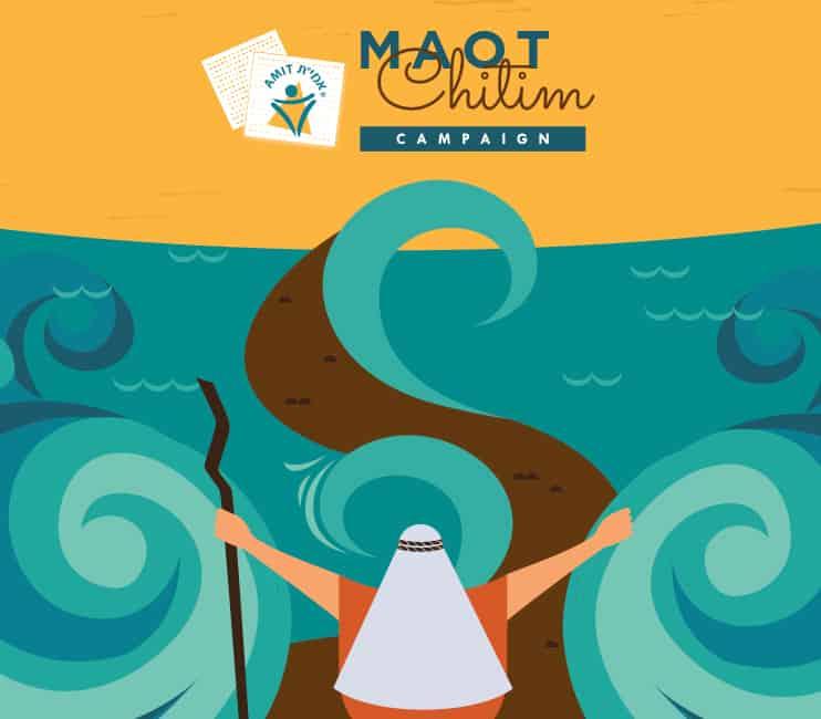 AMIT Maot Chitim Campaign