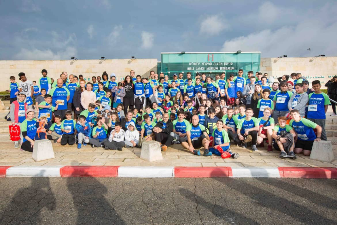 Team AMIT raises $50K for Beit Hayeled at Jerusalem Marathon